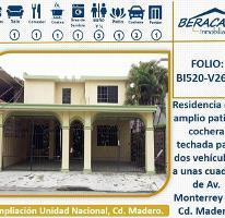Foto de casa en venta en n/d n/d, unidad nacional, ciudad madero, tamaulipas, 0 No. 01