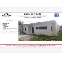 Foto de casa en venta en maculli, ecológica lic carlos a madrazo becerra, comalcalco, tabasco, 1706452 no 01