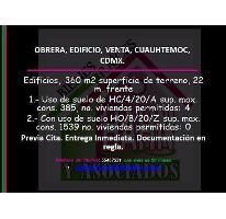 Foto de edificio en venta en  , obrera, cuauhtémoc, distrito federal, 2983792 No. 01