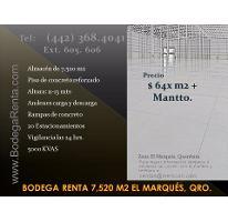 Foto de nave industrial en renta en  , parque industrial el marqués, el marqués, querétaro, 2858593 No. 01