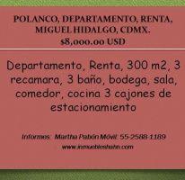 Foto de departamento en renta en, polanco v sección, miguel hidalgo, df, 2116994 no 01