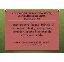 Foto de departamento en renta en  , polanco v sección, miguel hidalgo, distrito federal, 2116994 No. 01