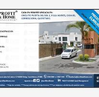 Foto de casa en venta en puerta del sol 1, puerta real, corregidora, querétaro, 0 No. 01