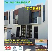 Foto de casa en venta en  , quintas de la hacienda, soledad de graciano sánchez, san luis potosí, 4319975 No. 01
