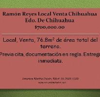 Foto de local en venta en, ramón reyes, chihuahua, chihuahua, 1678674 no 01