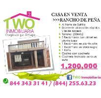 Foto de casa en venta en  , rancho de peña, saltillo, coahuila de zaragoza, 2867939 No. 01