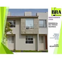 Foto de casa en renta en  , residencial el parque, el marqués, querétaro, 2261581 No. 01