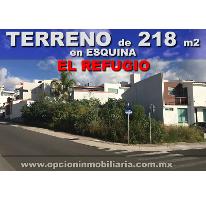 Foto de terreno habitacional en venta en, residencial el refugio, querétaro, querétaro, 2463360 no 01