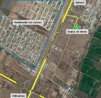 Foto de terreno habitacional en venta en  , residencial los leones, aldama, chihuahua, 3329306 No. 01