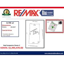 Foto de terreno habitacional en venta en residencial real campestre 0, el country, centro, tabasco, 2794993 No. 01