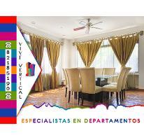 Foto de departamento en renta en  , residencial santa bárbara 1 sector, san pedro garza garcía, nuevo león, 2921174 No. 01