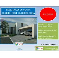 Foto de casa en condominio en venta en, residencial y club de golf la herradura etapa b, monterrey, nuevo león, 2357004 no 01