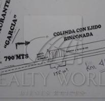 Foto de terreno habitacional en venta en  , rinconada, garcía, nuevo león, 2611272 No. 01