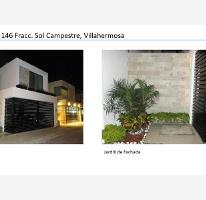 Foto de casa en venta en roma 15, sol campestre, centro, tabasco, 0 No. 01