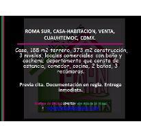 Foto de casa en venta en  , roma sur, cuauhtémoc, distrito federal, 2905518 No. 01