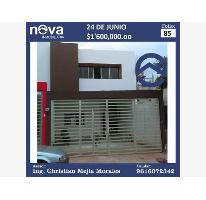 Foto de casa en venta en  s, 24 de junio, tuxtla gutiérrez, chiapas, 2536287 No. 01