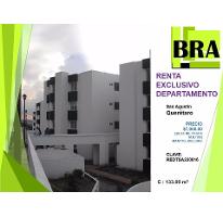 Foto de departamento en renta en  , san agustín, corregidora, querétaro, 2517269 No. 01
