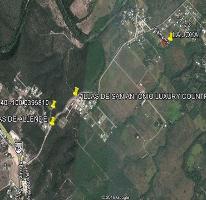 Foto de terreno habitacional en venta en  , san antonio, allende, nuevo león, 2268677 No. 01