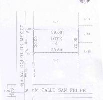 Foto de terreno habitacional en venta en, san felipe, mexicali, baja california norte, 2067503 no 01