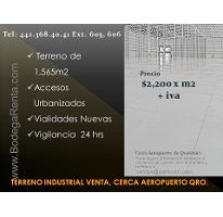Foto de terreno industrial en venta en  , san isidro miranda, el marqués, querétaro, 2844780 No. 01