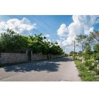 Foto de terreno habitacional en venta en  , san jose tzal, mérida, yucatán, 2266003 No. 01