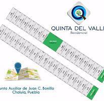 Foto de terreno habitacional en venta en  , san mateo cuanala, juan c. bonilla, puebla, 4028952 No. 01