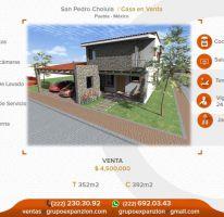Foto de casa en venta en san pedro cholula 1, residencial bosques de san pedro, san pedro cholula, puebla, 1308869 no 01