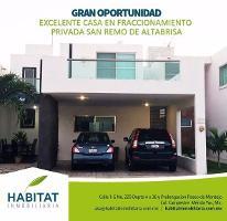 Foto de casa en venta en  , san remo, mérida, yucatán, 2639081 No. 01