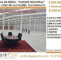 Foto de nave industrial en renta en  , santa cruz de las flores, tlajomulco de zúñiga, jalisco, 3925481 No. 01
