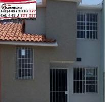 Foto de casa en venta en  , santa fe, morelia, michoacán de ocampo, 4433902 No. 01