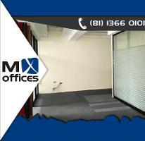 Foto de oficina en renta en  , santa maría, monterrey, nuevo león, 3729932 No. 01