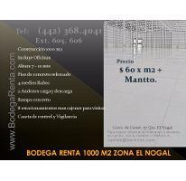 Foto de nave industrial en renta en  , santa rosa de jauregui, querétaro, querétaro, 2805391 No. 01