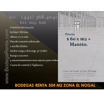 Foto de nave industrial en renta en  , santa rosa de jauregui, querétaro, querétaro, 2834653 No. 01