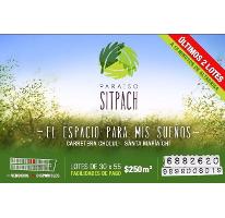 Foto de terreno habitacional en venta en  , sitpach, mérida, yucatán, 2643824 No. 01