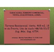 Foto de terreno comercial en venta en  , tabacalera, cuauhtémoc, distrito federal, 2643069 No. 01