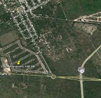Foto de terreno habitacional en venta en tablaje 2624 , yaxkukul, yaxkukul, yucatán, 3730077 No. 01