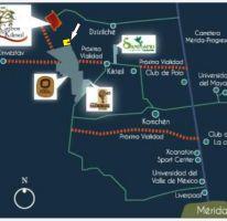 Foto de terreno habitacional en venta en tablaje 34646, cheuman, mérida, yucatán, 1422595 no 01