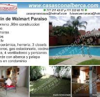 Foto de casa en venta en  , temixco centro, temixco, morelos, 3833034 No. 01