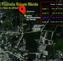 Foto de terreno habitacional en venta en, temozon norte, mérida, yucatán, 1756936 no 01