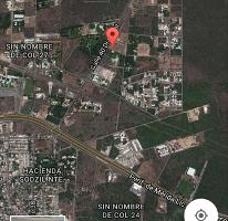 Foto de terreno habitacional en venta en  , temozon norte, mérida, yucatán, 2409400 No. 01