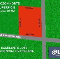 Foto de terreno habitacional en venta en  , temozon norte, mérida, yucatán, 3952526 No. 01