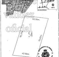 Foto de terreno habitacional en venta en  , temozon norte, mérida, yucatán, 3985203 No. 01