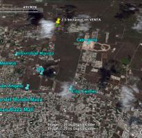 Foto de terreno comercial en venta en  , temozon, temozón, yucatán, 2800043 No. 01