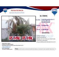Foto de terreno habitacional en venta en terreno en venta calle santa margarita colonia san nicolas 3, san nicolás, carmen, campeche, 2130461 No. 01