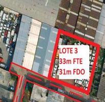 Foto de terreno habitacional en venta en  , tezozomoc, azcapotzalco, distrito federal, 1086875 No. 01
