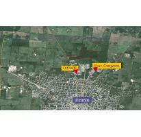Foto de terreno habitacional en venta en  , tizimin centro, tizimín, yucatán, 1719264 No. 01