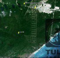 Foto de terreno habitacional en venta en, tulum centro, tulum, quintana roo, 1086549 no 01