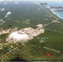 Foto de terreno habitacional en venta en, tulum centro, tulum, quintana roo, 1088589 no 01