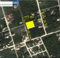 Foto de terreno habitacional en venta en, tulum centro, tulum, quintana roo, 1117079 no 01