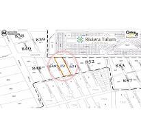 Foto de terreno habitacional en venta en  , tulum centro, tulum, quintana roo, 2449305 No. 01